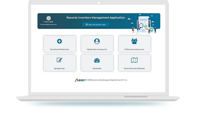Record Inventory Management Application